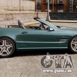 Mercedes-Benz SL65 2007 AMG v1.2 pour GTA 4 est une gauche