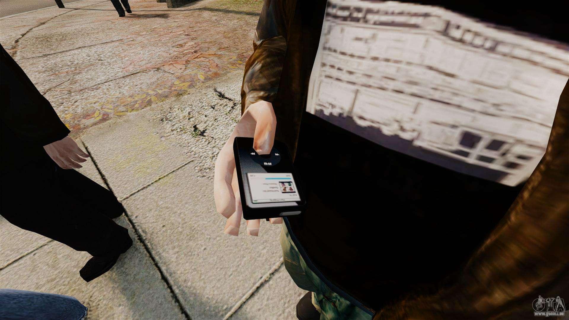 Mise à Jour MP3 Player Pour GTA 4