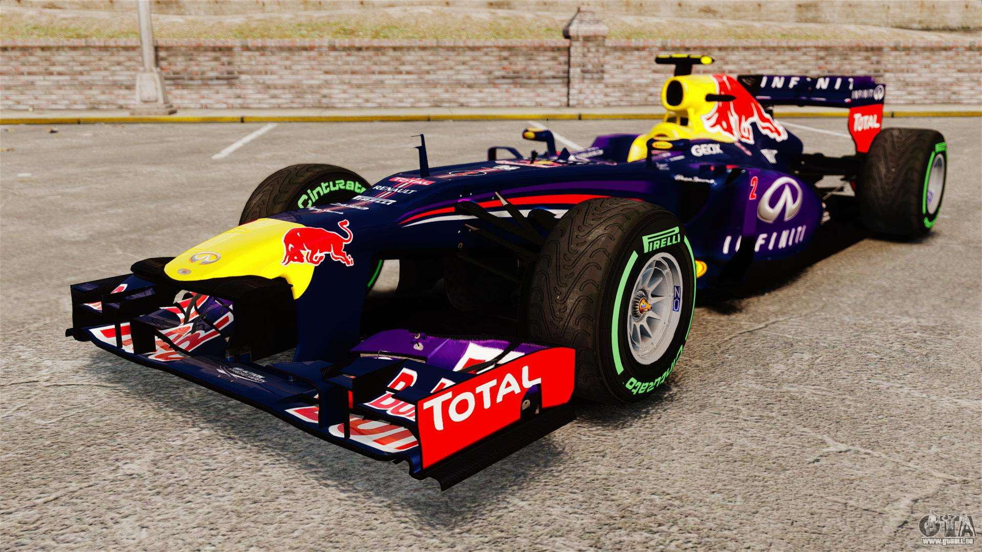 voiture red bull rb9 v3 pour gta 4. Black Bedroom Furniture Sets. Home Design Ideas