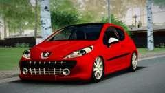 Peugeot 207 pour GTA San Andreas