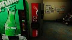 Le bureau distributeur automatique Nescafé