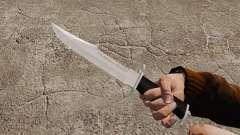 Messer der Alabama Slammer, verchromt