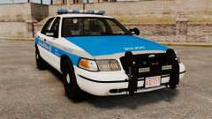 Ford Crown Victoria Police Massachusetts ELS pour GTA 4