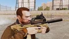 Belgische FN P90 Maschinenpistole v4