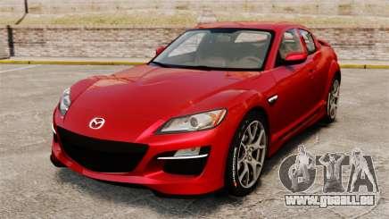 Mazda RX-8 R3 2011 pour GTA 4