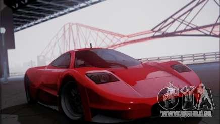 Joss JP1 2010 Supercar V1.0 pour GTA San Andreas