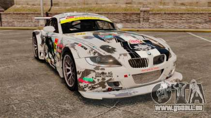 BMW Z4 M Coupe GT Black Rock Shooter für GTA 4