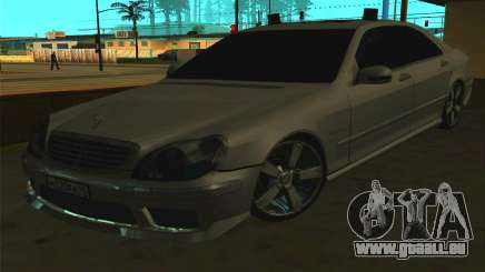 Mercedes-Benz S65 AMG W220 für GTA San Andreas