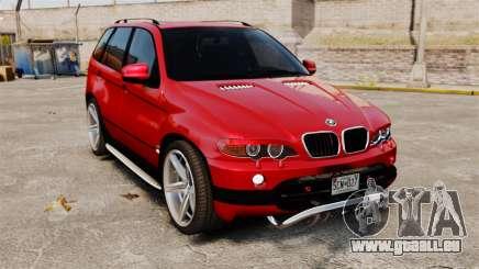 BMW X5 4.8iS v3 pour GTA 4