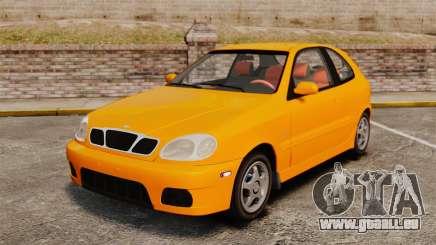 Daewoo Lanos Sport US 2001 pour GTA 4