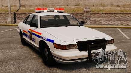 La Gendarmerie royale du Canada pour GTA 4