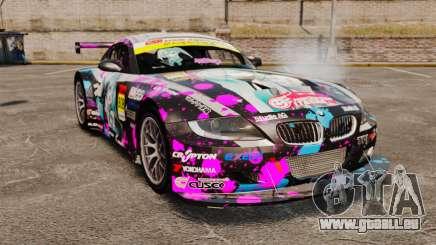 BMW Z4 M Coupe GT Miku pour GTA 4