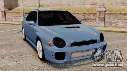 Subaru Impreza WRX 2001 pour GTA 4
