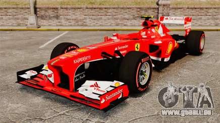 Ferrari F138 2013 v6 für GTA 4