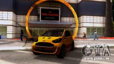 Aston Martin Cygnet 2011 für GTA San Andreas