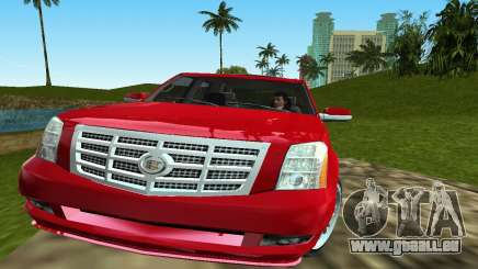 Cadillac Escalade pour GTA Vice City