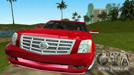 Cadillac Escalade pour GTA Vice City