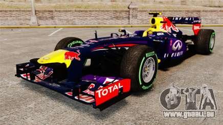 Voiture, Red Bull RB9 v3 pour GTA 4