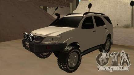 Toyota Fortunner 2012 Semi Off Road für GTA San Andreas
