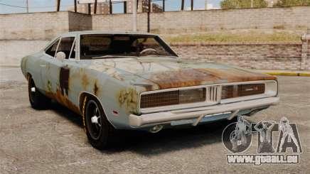 Dodge Charger RT 1969 rostige v1. 1 für GTA 4