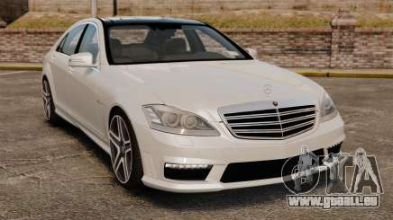 Mercedes-Benz S65 W221 AMG Stock v1.2 pour GTA 4