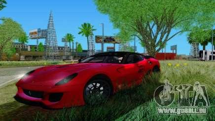 Ferrari 599xx für GTA San Andreas