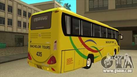Kinglong XMQ6126Y - Bachelor Tours 435 pour GTA San Andreas vue de droite
