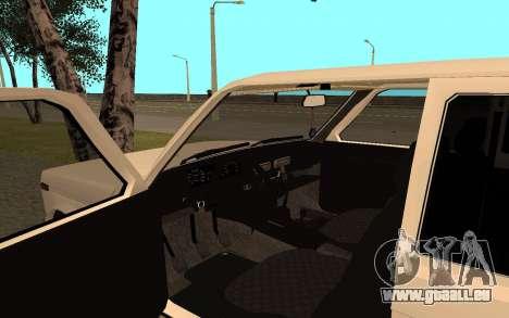 Le Niva VAZ 21213 pour GTA San Andreas vue arrière