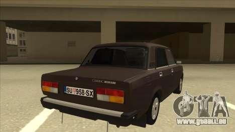 Lada Riva pour GTA San Andreas vue de droite