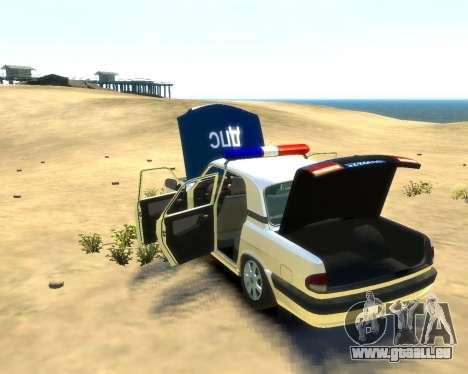 GAZ 31105 DPS pour GTA 4 est un droit