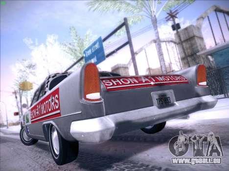 HD Bloodring Banger für GTA San Andreas zurück linke Ansicht