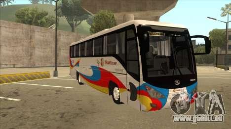 Kinglong XMQ6126Y - GL Trans 559 pour GTA San Andreas laissé vue