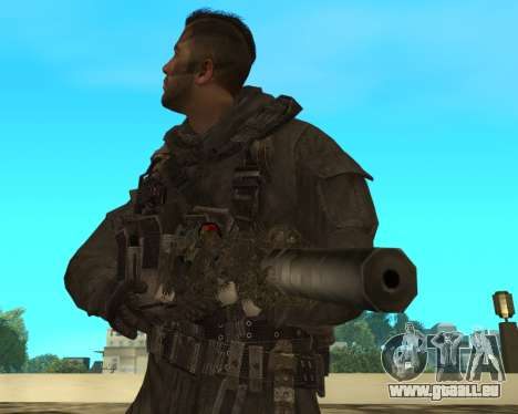 Sniper MacMillan pour GTA San Andreas troisième écran
