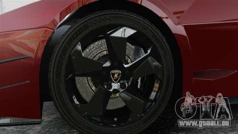 Lamborghini Reventon Body Kit Final für GTA 4 Rückansicht