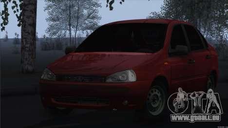 Kalina 1118 VAZ pour GTA San Andreas