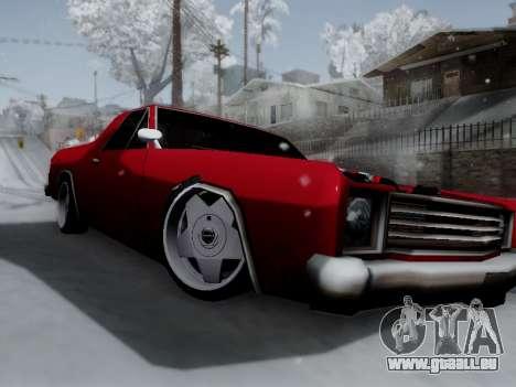 Picador V8 Picadas für GTA San Andreas linke Ansicht