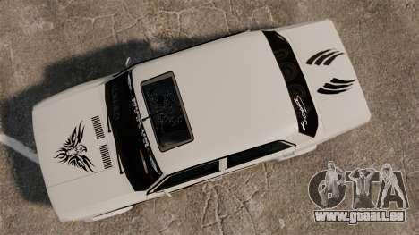 Fiat 124 Tuning pour GTA 4 est un droit