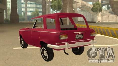 Fiat 1500 Familiar pour GTA San Andreas vue arrière