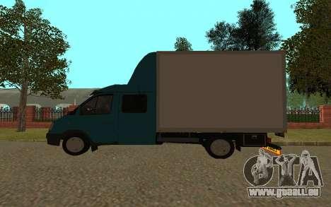 Gazelle 33023 für GTA San Andreas zurück linke Ansicht