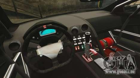 Lamborghini Reventon Body Kit Final pour GTA 4 est une vue de l'intérieur