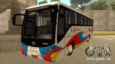 Kinglong XMQ6126Y - GL Trans 559 pour GTA San Andreas