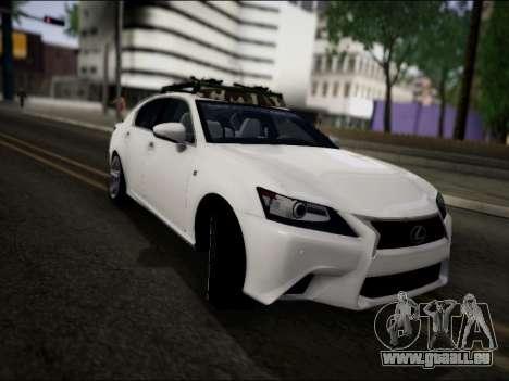 Lexus GS 350 für GTA San Andreas rechten Ansicht