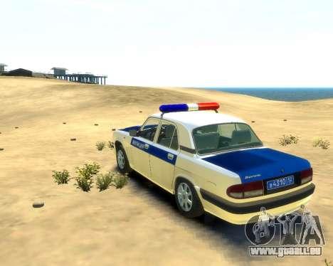 GAZ 31105 DPS für GTA 4 linke Ansicht