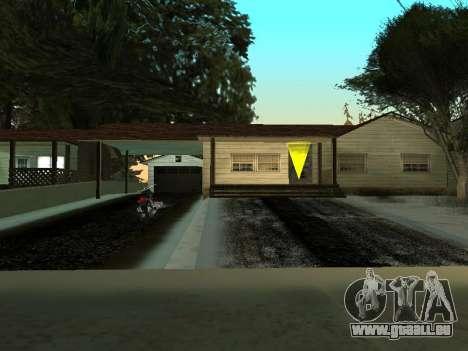 Hiver v1 pour GTA San Andreas cinquième écran