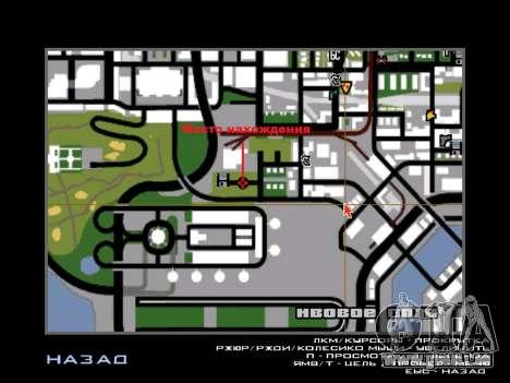 Échange et César pour GTA San Andreas cinquième écran