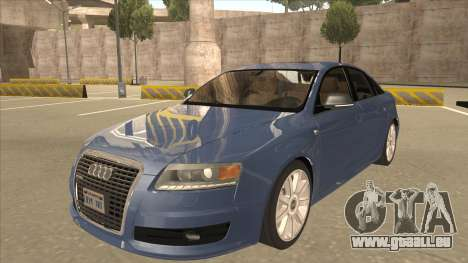 2010 Audi A6 4.2 Quattro pour GTA San Andreas