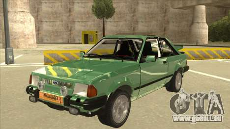 Ford Escort XR3 With Cosworth Spoiler für GTA San Andreas