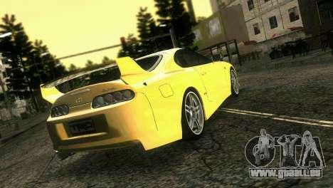 Toyota Supra TRD für GTA Vice City linke Ansicht