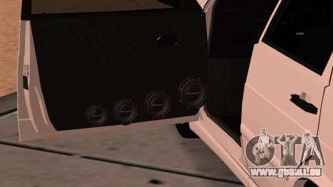 ВАЗ 2114 pour GTA San Andreas vue de côté