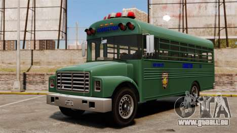 Le bus de la prison, New York City pour GTA 4